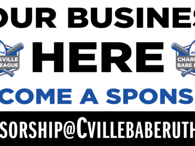 Cville Babe Ruth – 48×96 League Banner